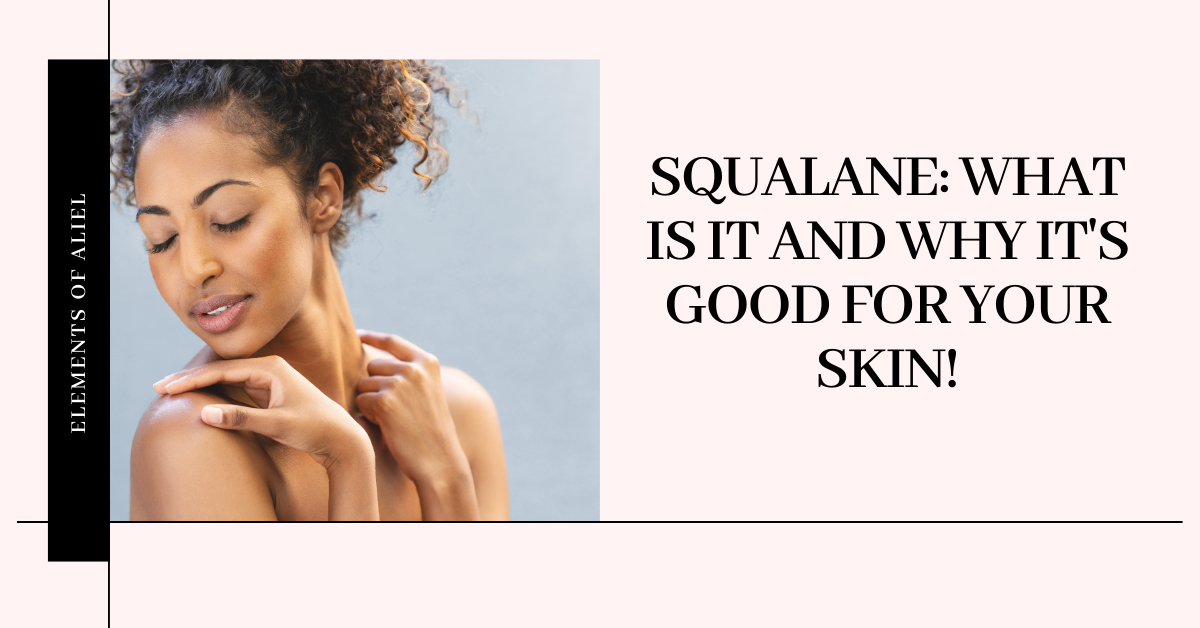 Squalane for the skin